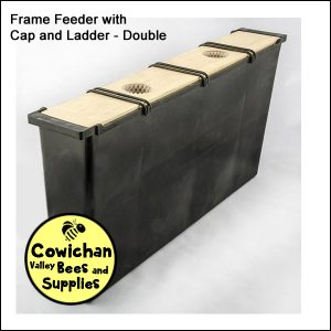 Frame Feeder with Cap and Ladder - Double