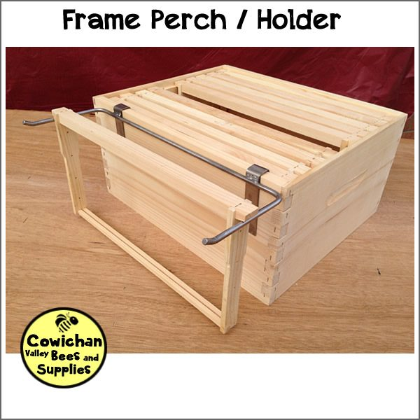 frame perch holder metal