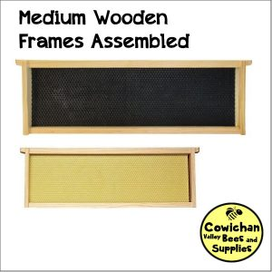 Assembled wooden frames - mediums