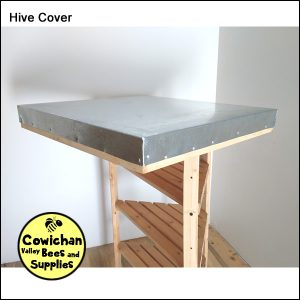 galvanized hive cover