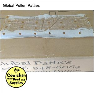 Global pollen patties 15% pollen
