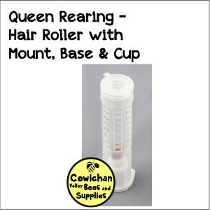 queen rearing hair-roller-with