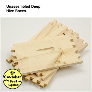 hive box deep supers unassembled