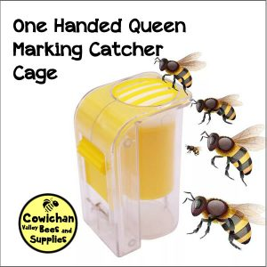 One handed queen marking cage