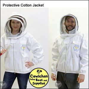 Protective bee jacket cotton with veil